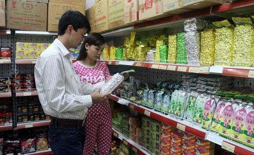 Trà Thái Nguyên được bày bán khắp các siêu thị
